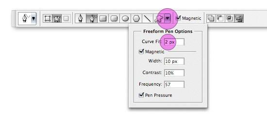 options6 - Краткое описания инструмента Перо