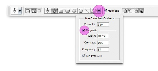 options7 - Краткое описания инструмента Перо