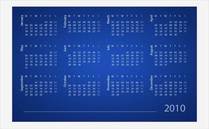 Автоматическое  создание Календаря