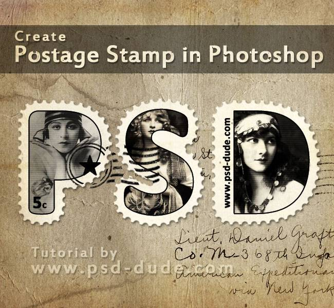 old-stamp-photoshop